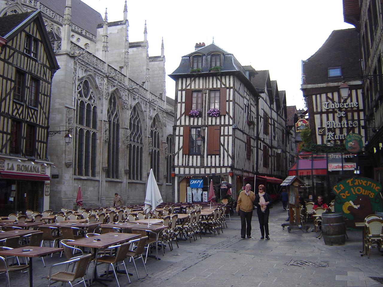 Troyes Ville M Di Vale Et Moderne